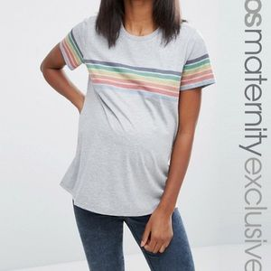 ASOS maternity tee. So cute and comfy!